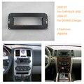 Fáscia rádio do carro para chrysler 300c 2005-07 pt cruiser 2006-10 dodge charger jeep mitsubishi kit guarnição cercado moldura do painel de rosto