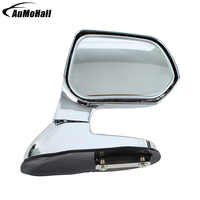 1 пара авто Серебристые широкоугольные Задние Зеркала Автомобиля слепое пятно квадратная сторона заднего вида плоское зеркало