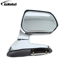 купить 1 Pair Auto Silver Wide Angle Rear Mirrors Vehicle Car Universal  Blind Spot Square Side Rear View Flat Mirror дешево