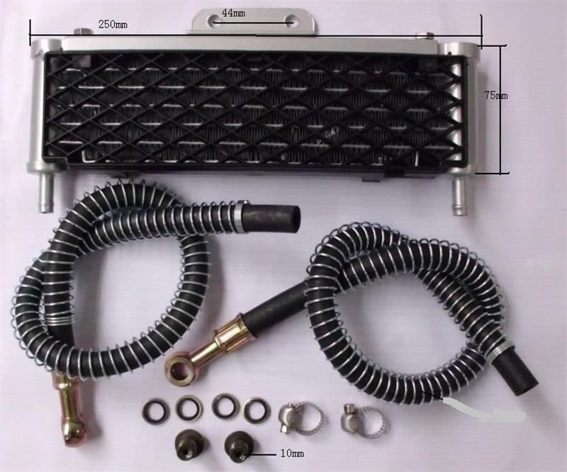 new 110cc-125cc Engine Oil Cooling Radiator cooler for moto atv motorcycle dirt pit bike parts