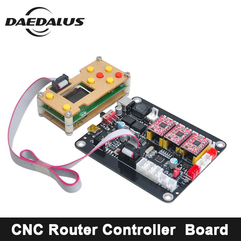 CNC Router 3018 2418 1610 3 Axis CNC Controller GRBL Control Double USB Driver Board Controller