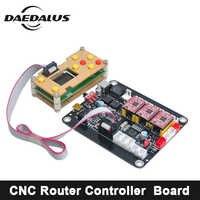 CNC Router 3018/2418/1610 3 Assige CNC Controller GRBL Controle Dubbele USB Driver Board Controller Laser Board voor Graveur Carving