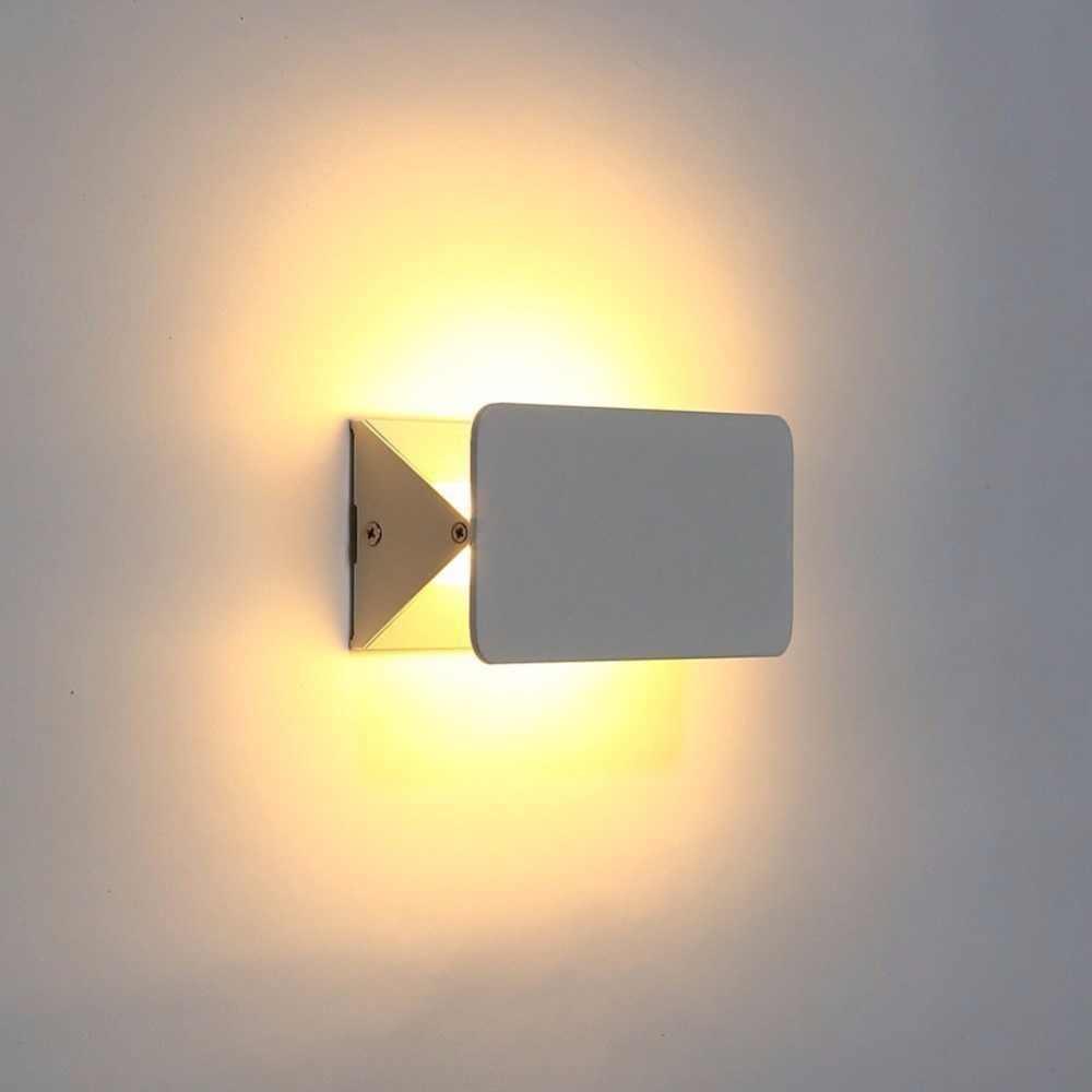 Новый современный 5 Вт 10 Вт 16 Вт белый гибкий отрегулирующий светодиодный настенный светильник Гибкая высокая яркость прикроватное комнатное настенное освещение для ванной комнаты