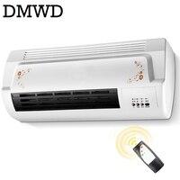 DMWD Warm Cool Dual Use Air Blower Electric Heater Fan Bathroom Wall Hanging Warmer Ceramic Thermal