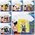 2016 nova moda DRAGON BALL T shirts de manga curta homens Vegeta Anime Son Goku T - camisa homem ocasional dos homens Tops Anime camisetas XD-015