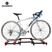 Bisiklet eğitmen rulo bisiklet eğitim aracı MTB yol bisikleti egzersiz Fitness istasyonu binme eğitmen aracı istasyonu 3 sahne katlama