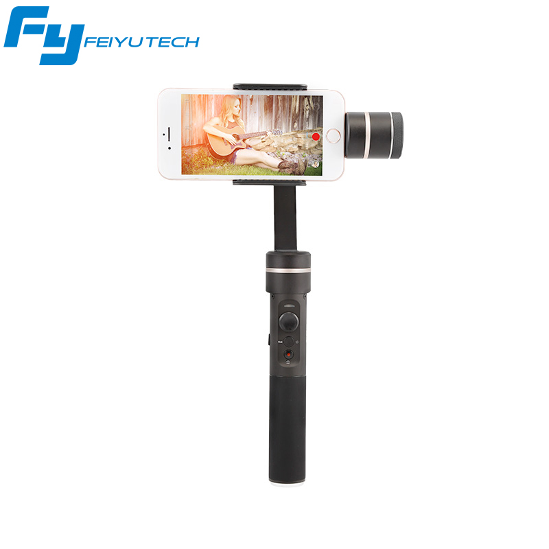 FeiyuTech FY SPG C 3-Axis Handheld Smartphone Gimbal Stabilizer for XIAOMI HUAWEI Iphone Professional Selfie Stick PK Smooth Q 2 axis smartphone handheld stabilizer mobile phone brushless gimbal with bluetooth for iphone for samsung for xiaomi for huawei