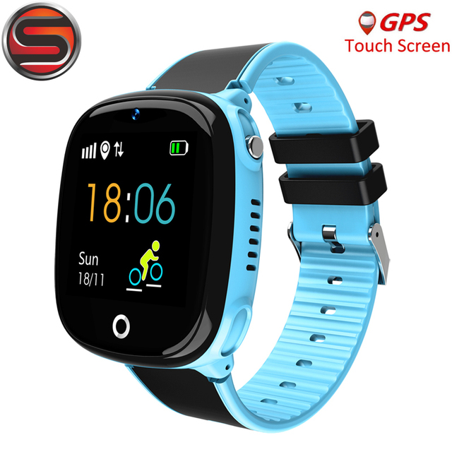 SK07 Anti Lost Child Watch GPS Tracker SOS Smart Monitoring Positioning Phone Kids GPS Baby Watch Compatible IOS & Android G53