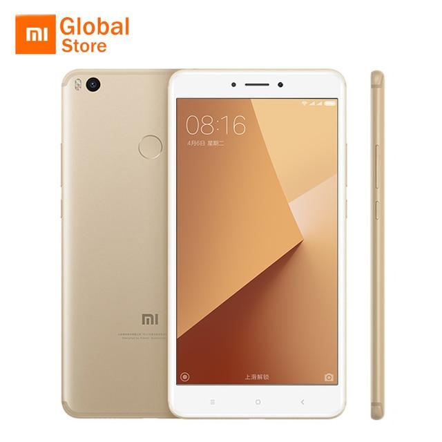 """Xiao Mi Max 2 32 ГБ Встроенная память 4 ГБ Оперативная память Max2 мобильный телефон Snapdragon 625 Octa core 5300 мАч батарея 6.44 """"1080 P Miui 8 оригинальный"""