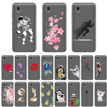New Fashion TPU Caixa Do Silicone para Alcatel 1 5033D 5.0