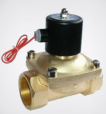 Free Shipping 1/2 2 Position 2 Port Air Solenoid Valves 2W160-15 Pneumatic Control Valve , DC12V DC24V AC220V