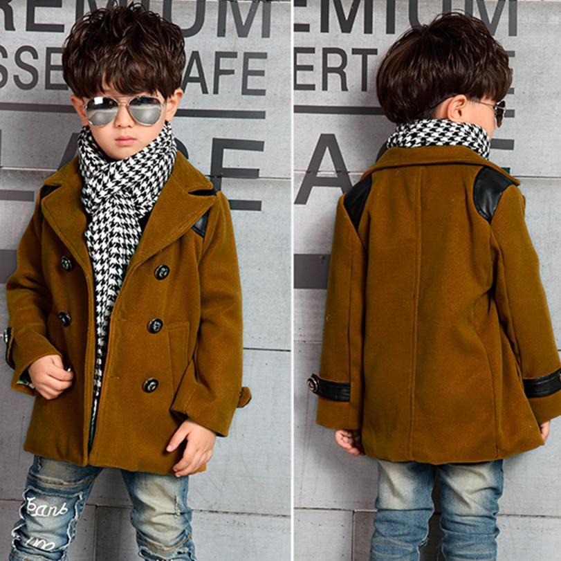 Lovely 2016 Winter High Quality Kid Boy Designer Coat Children's Jacket  VS48