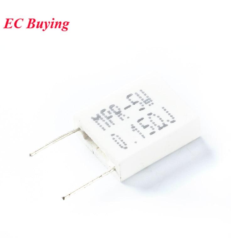 10pcs Ceramic Resistor Cement 5W 0.5R 0.5 ohm 5/% Wirewound Resistance NEW L