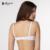 Annajolly sutiãs das mulheres breve moda brassiere roupa interior confortável top lingerie underwire bra melancia preto branco vermelho 8431