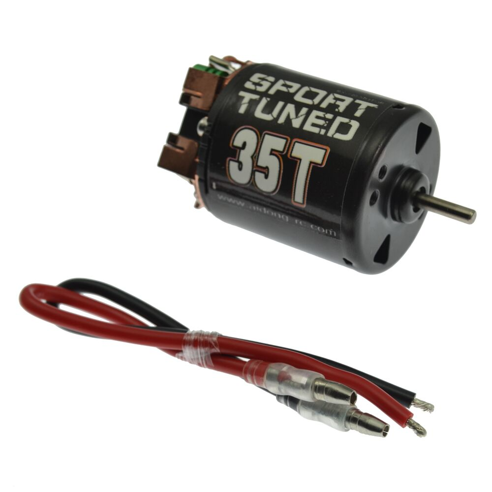 540 Modified Brushed Motor 35T/45T/55T for CC01/F350/D90/AXIAL/SCX10 Rock Crawler car