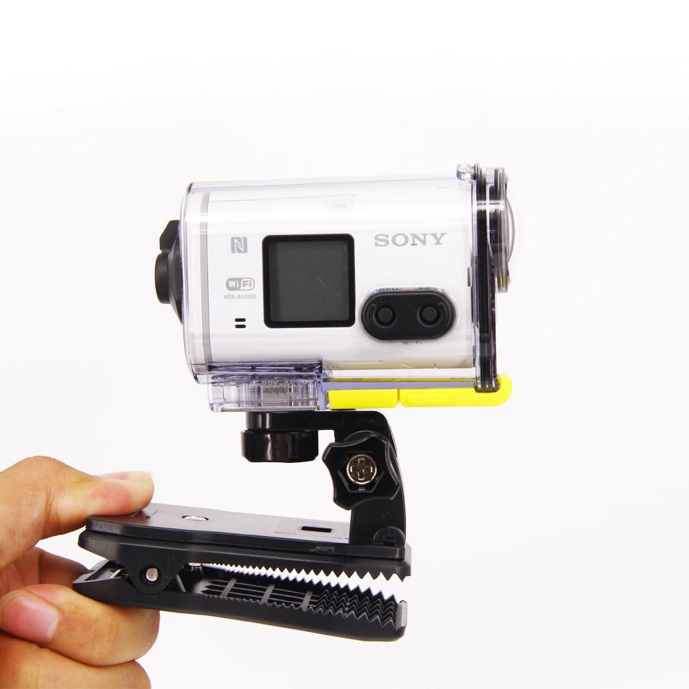 Belt Bag Cap Clip Mount For Sony Action Cam HDR AS20 AS50 AS100V AS30V AZ1 AS200V AS300R FDR-X1000V X3000R aee accessories