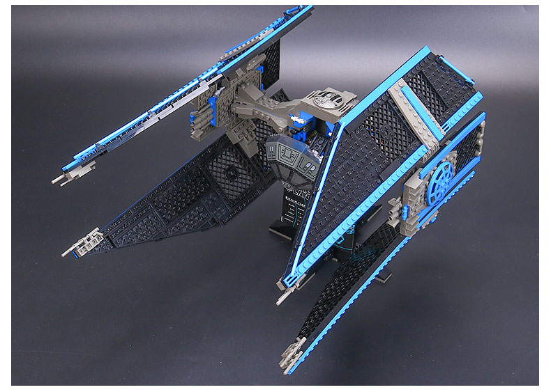 Star Series Wars Building Block 05044 The TIE Interceptor Compatible with Legoing 7181 Toys For Children 3