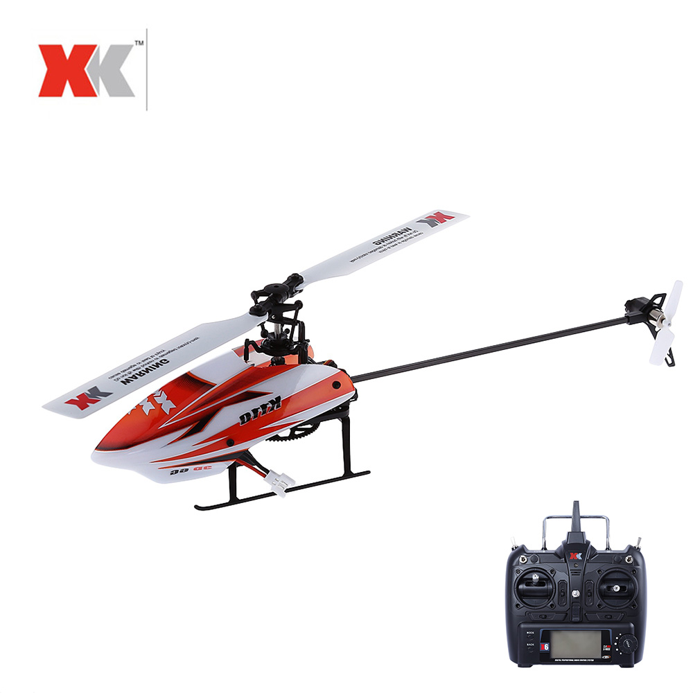 XK K110 RC Helicopter 3D6G System 6CH Radio Control Brushless RC Toy VS Wltoys V977 For Children RC Drone Funny Gift wltoys q222 quadrocopter 2 4g 4ch 6 axis 3d headless mode aircraft drone radio control helicopter rc dron vs x5sw