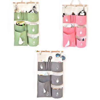 Декоративный подвесной органайзер для хранения, чехол-держатель для шкафа, сумки, карман для детской комнаты, настенная дверь