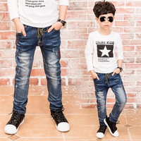A New Year Children S Jeans Boy Light Color Jeans Children Spring Boy Jeans For Age