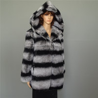 Натуральный мех, натуральный мех Lexus Rex, мех кролика, пальто для женщин, теплый и теплый