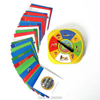 Family Funny Yoga Spinner Sport Game With 54 Yoga Pose Cards For 2 4 Palyer Flexibility