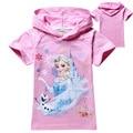 girls t shirt short sleeve cotton kids girls t-shirt tops tees toddler baby children clothing