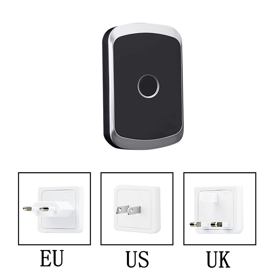 Image 3 - DAYTECH Doorbell Chime Alarm Home Weclome Cordless Door Bell Ring Alert Button Waterproof Long Range Remote Push Transmitter-in Doorbell from Security & Protection