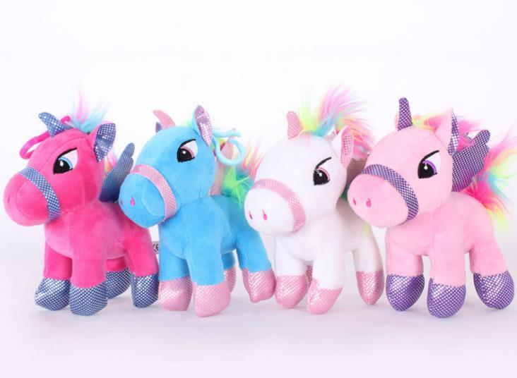 20 см Kawaii Плюшевые игрушки Мягкие Единорог кукла, подушку Детская комната Декор игрушка для детей ученик Новогодний подарок