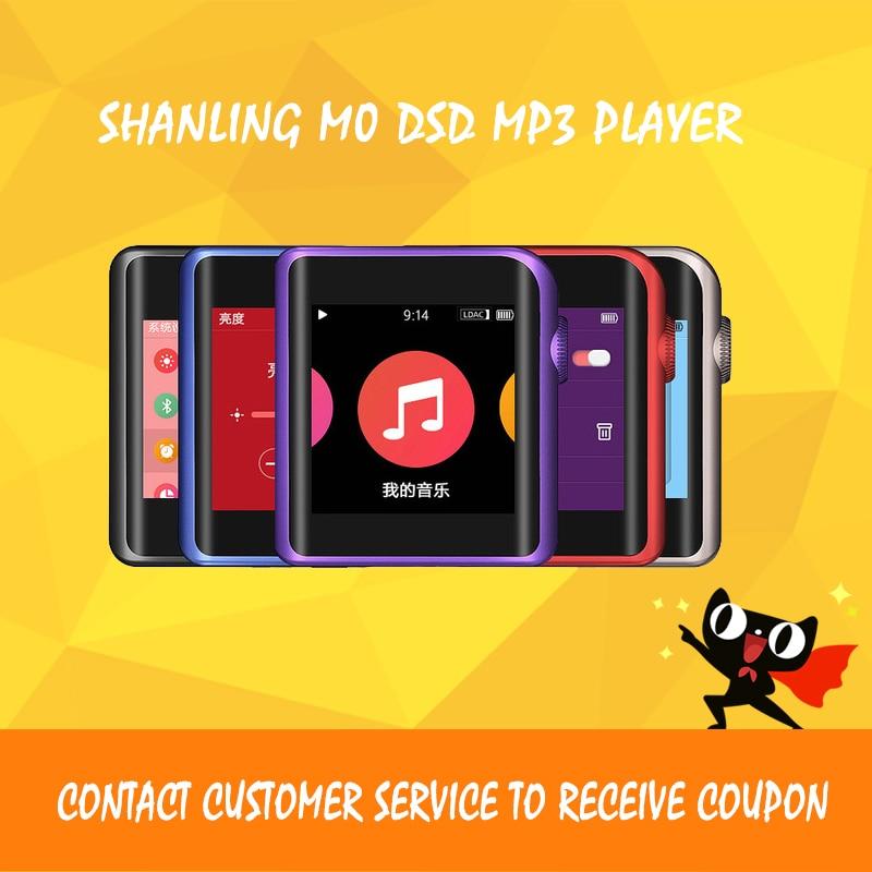SHANLING M0 Portable Mini DSD MP3 Player Small Screen Bluetooth HD Music Player portable bluetooth 5 0 player