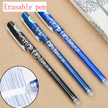 цена на 1pc Magic Erasable Gel Pen Blue / Black / Ink Blue / Red Refill Business Office Gel Pen Children'S Student Gift Stationery