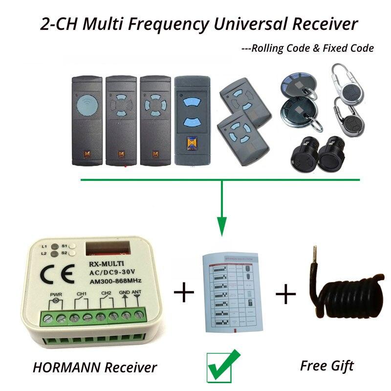 Hormann Marantec Berner Receiver + Antenna 868MHz Free Shipping free shipping high quality dalrc 5 8ghz transmitter antenna receiver antenna for phantom2 vision