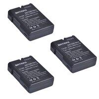 3 Stücke EN-EL14 EN EL14a EL14 1200 mAh Batterie MH-24 bateria für Nikon P7000 P7100 D3100 D3200 D5100 D3300 D5200 D5300 P7200 P7800