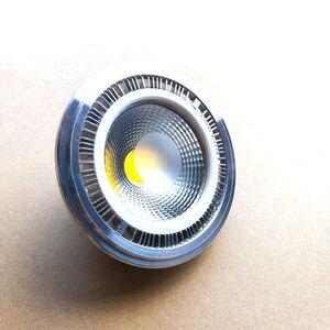 Image 1 - Kısılabilir 15w COB LED G53 AR111 lamba AC85V 265V GU10 AR111 spot sıcak beyaz soğuk beyaz Ücretsiz Kargo