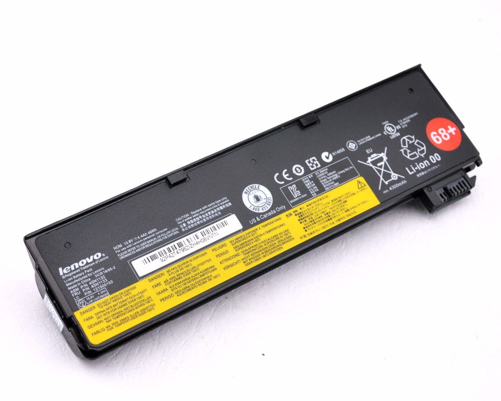6 core Genuine Original Battery for Lenovo Thinkpad X240 X250 W550S L450 K2450 45N1132 45N1133 45N1775 45N1767 45N1737 121500146