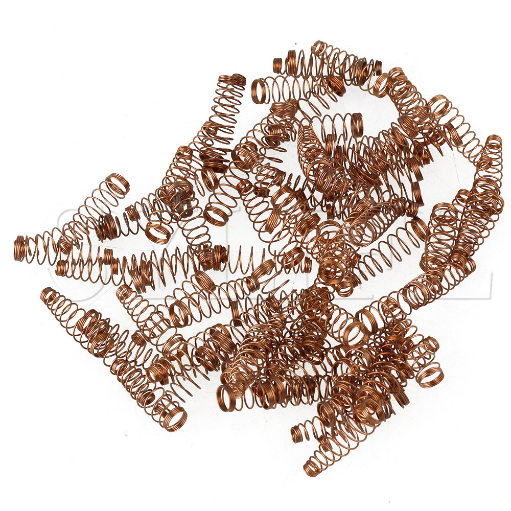 90 X Metal Copper Wire Piano Hammer Jack Springs Replacement For Upright Piano