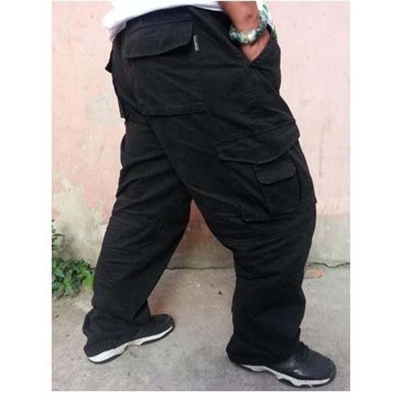 da7e4cc8144 Xl extra large men pants loose overalls plus size man cargo pants jpg  800x800 Overalls fat
