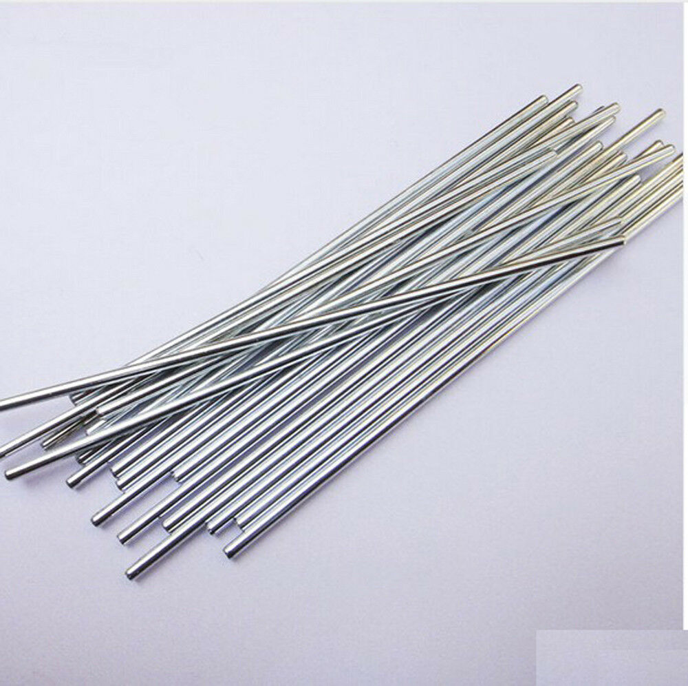 10 Pcs 2*100mm Metal Model Axle Gear Shaft Diameter 2mm DIY Toy Accessory