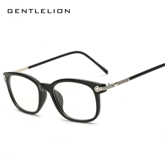 a2296eb6c8 Fashion Newest Style Plain Eyeglass Frame Optics Clear Reading Glasses  Trendy Goggles for Men Women oculos feminino 8105