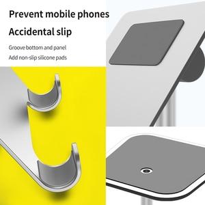 Image 3 - נייד טלפון Tablet רב פונקצית שולחן העבודה סטנד אוניברסלי מתכוונן נייד שולחן טלפון מחזיק עבור Samsung Iphone X XS מקסימום