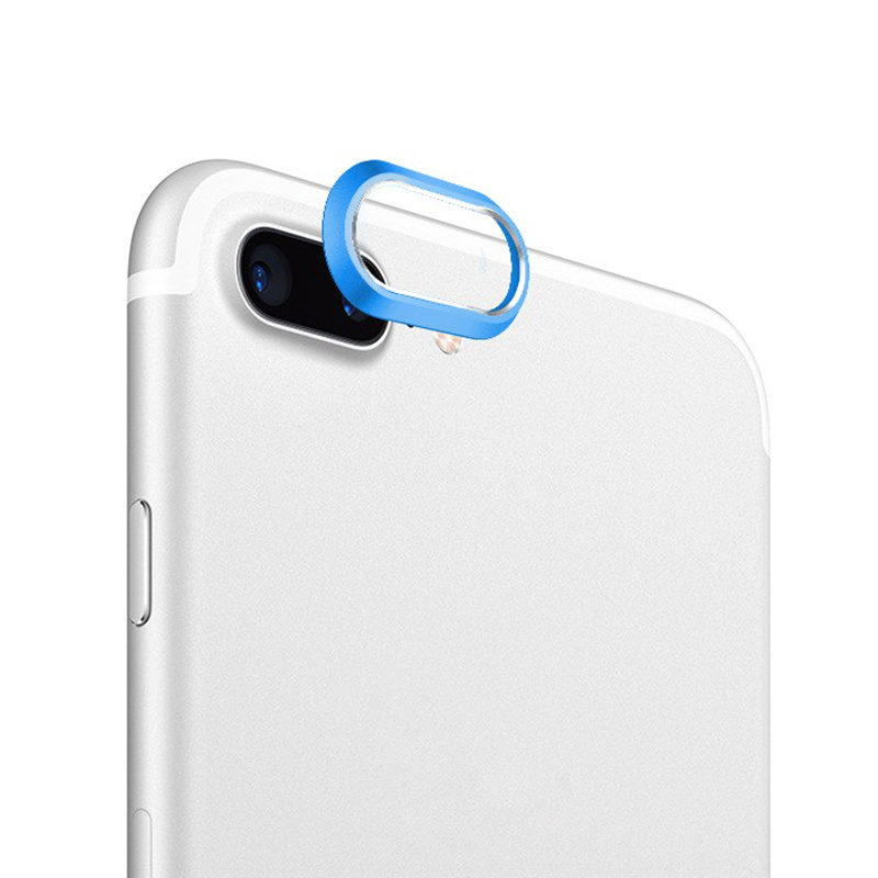 For IPhone X Camera Screen Protector Case Ring Cover for IPhone 7 8 Plus Rear Back