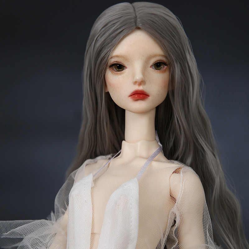 Freedomteller 1/4 Sybil BJD Boneca SD 44 centímetros Menina Corpo Esbelto Lillycat Livre Bolas de Olho Loja de Moda