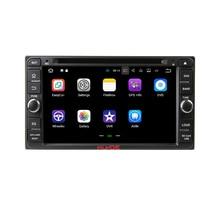 """Klyde 2 DIN 6.95 """"Android 7.1 Автомобильный Мультимедийный Плеер для Toyota RAV4 венчика Vios Hilux Fortuner 2006-2010 Радио стерео аудио"""