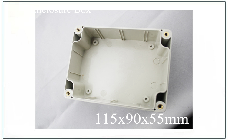 Waterproof Plastic Electronic Project Enclosure Cover CASE Box 115x90x55MM free shipping  цены