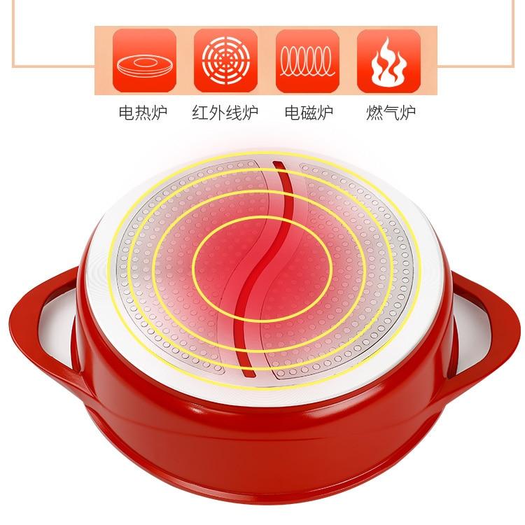 Chinois Sichuan anti-adhésif médical pierre chaude pot Yuanyang deux-saveur soupe ragoût casserole spéciale cuiseur commercial ménage épaississement - 3