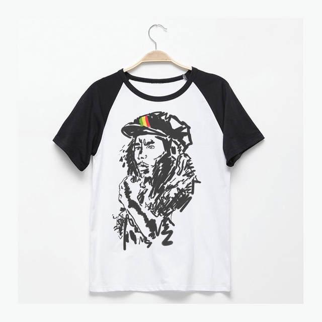 Bob Marley Reggae Estilo Desenho Da Mao Do Espirito Raizes