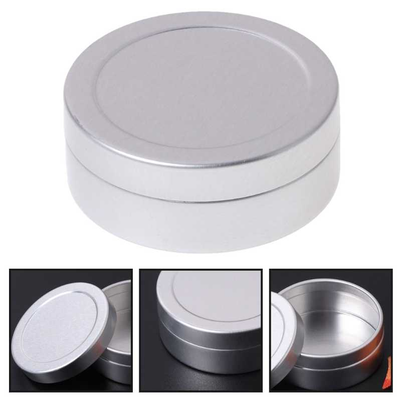 Aluminum Tin Can Mighty Gadget Crafts Cosmetic Candle Storage Container 25ml/25g
