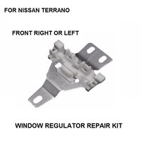 WINDOW REGULATOR REPAIR METAL SLIDER FOR NISSAN TERRANO MKII FRONT LEFT RIGHT