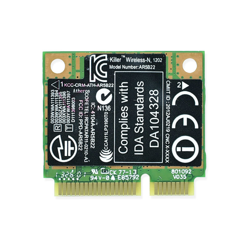 QUALCOMM KILLER WIRELESS-N 1102 NETWORK ADAPTER WLAN DESCARGAR CONTROLADOR