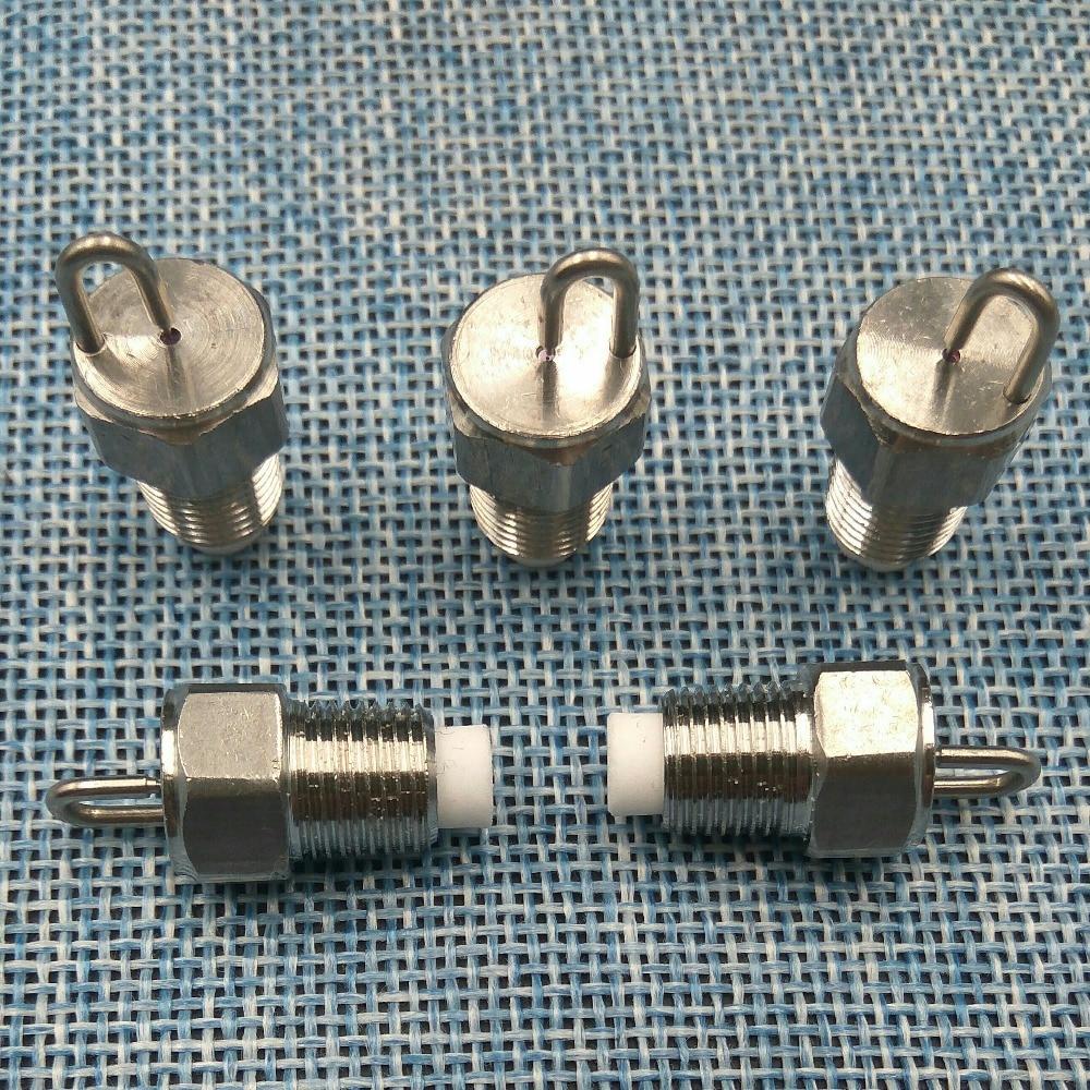 Anti-drop 1/8 External Thread Ruby Impact Pin Misting Nozzles For Landscape Spray Orifice Super Fine Fog Mist Nozzle Garden Supplies